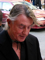 "Joel Schumacher attending the red carpet gala premier for ""Phone Booth"" at the 2002 Toronto International Film Festival"