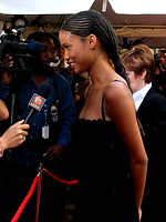 "Joy Bryant attending the red carpet gala premier for ""Antwone Fisher"" at the 2002 Toronto International Film Festival"