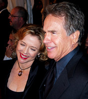 "Annette Bening & Warren Beatty attending the red carpet gala premier for ""Being Julia"" at the 2004 Toronto International Film Festival"