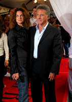 "Dustin Hoffman attending the red carpet gala premier for ""I Heart Huckabees"" at the 2004 Toronto International Film Festival"