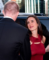 "Jennifer Connelly and Paul Bettany attending the premier for ""Creation"" at the Toronto International Film Festival"