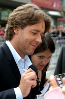 "Russell Crowe attending the red carpet gala premier for ""A Good Year"" at the 2006 Toronto International Film Festival"