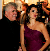 "Pedro Almodóvar & Penélope Cruz attending the red carpet gala premier for ""Volver"" at the 2006 Toronto International Film Festival"