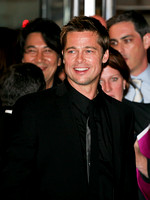 "Brad Pitt attending the red carpet gala premier for ""Babel"" at the 2006 Toronto International Film Festival"