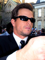 "Mark Wahlberg attending the red carpet gala premier for ""I Heart Huckabees"" at the 2004 Toronto International Film Festival"