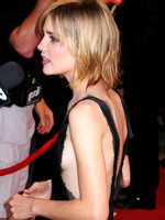 "Alison Lohman attending the red carpet gala premier for ""Matchstick Men"" at the 2003 Toronto International Film Festival"