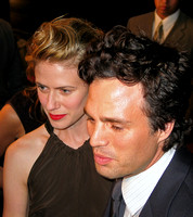 "Sunrise Coigney & Mark Ruffalo attending the red carpet gala premier for ""In the Cut"" at the 2003 Toronto International Film Festival"