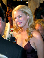 "Jacinda Barrett attending the red carpet gala premier for ""The Human Stain"" at the 2003 Toronto International Film Festival"