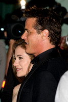 "Caroline Dhavernas & Paul Gross attending the red carpet gala premier for ""Passchendaele"" at the 2008 Toronto International Film Festival"