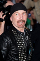 "Musician David ""The Edge"" Evans attending the red carpet gala premier for ""From the Sky Down"" at the 2011 Toronto International Film Festival (TIFF)"