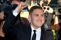 "Jonah Hill attending the red carpet gala premier for ""MoneyBall"" at the 2011 Toronto International Film Festival (TIFF)"