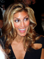 "Jennifer Esposito attending the red carpet gala premier for ""I Heart Huckabees"" at the 2004 Toronto International Film Festival"