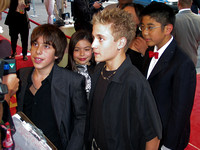 "The Kids of Rock attending the red carpet gala premier for ""The School of Rock"" at the 2003 Toronto International Film Festival"