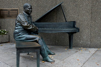 Oscar Peterson - Bronze Sculpture